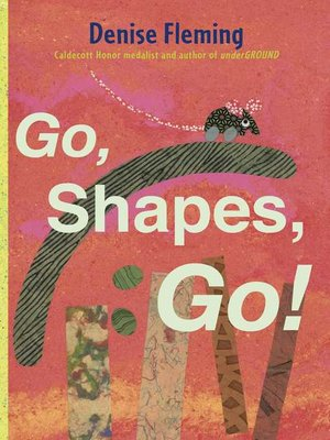 cover image of Go, Shapes, Go!